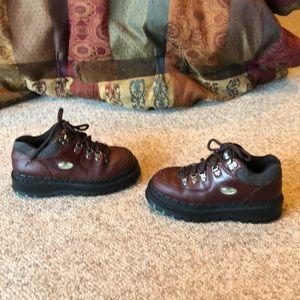 Vintage Skechers Chestnut Platform Boots shoes 7-